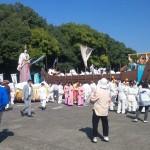 宮崎県を代表する祭りの神武様の由来 御神幸行列区間の通行止めは?